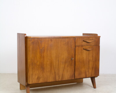 Perfectly Restored Tatra Sideboard, 1960's