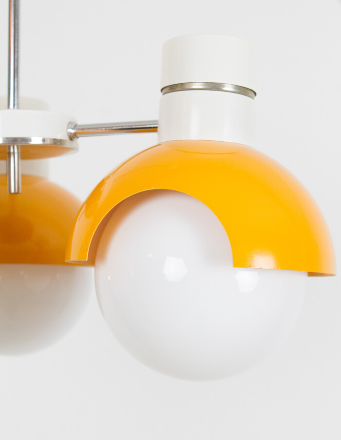 Space Age Chandelier from Napako, 1970's -3