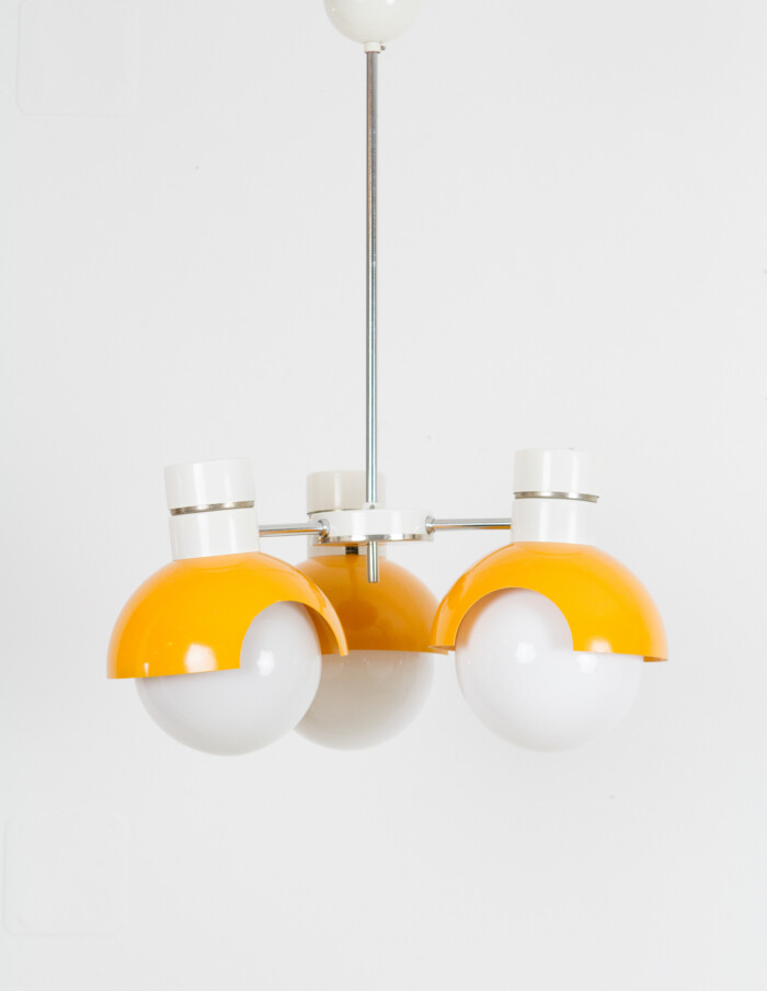Space Age Chandelier from Napako, 1970's -8