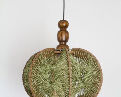 String Art Pendant from the 50's