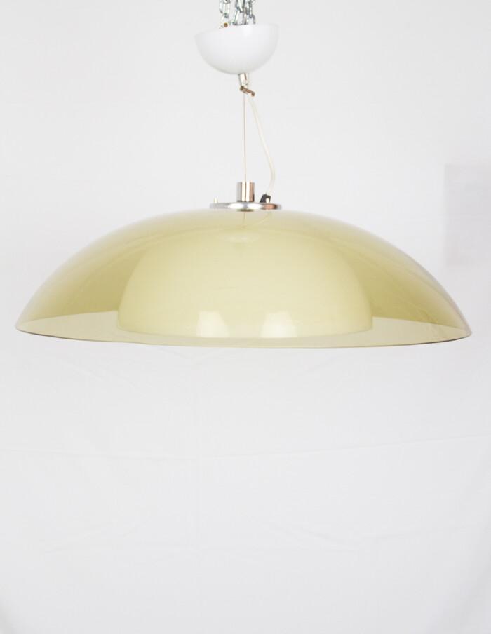 Large Acrylic Pendant Lamp by Guzzini, 1970s -1