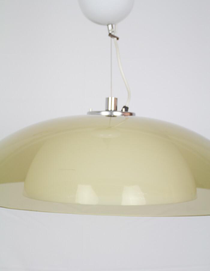 Large Acrylic Pendant Lamp by Guzzini, 1970s -2