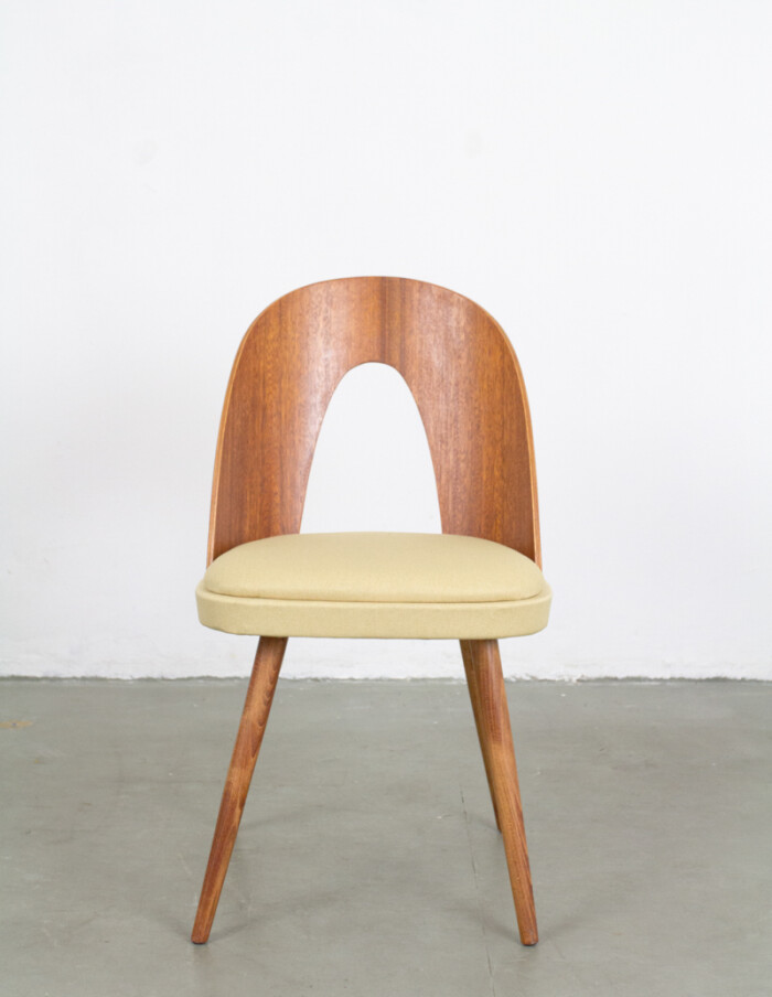 Perfectly Restored Tatra Dining Chair from the 60s -1