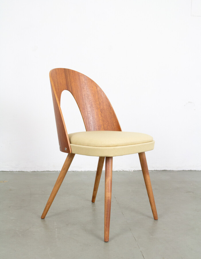 Perfectly Restored Tatra Dining Chair from the 60s -5