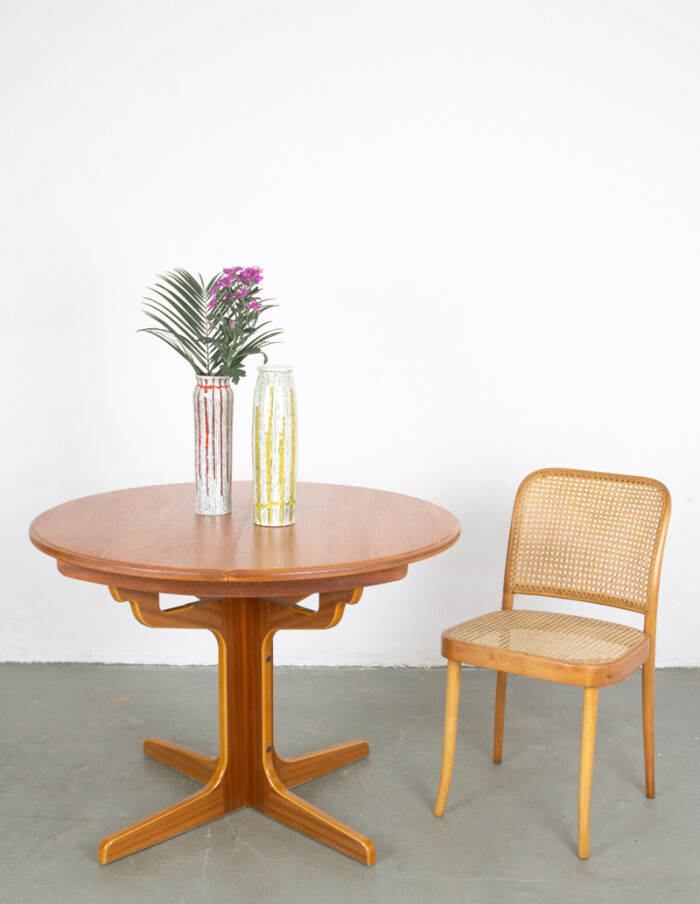Restored Extendable Round Table-8
