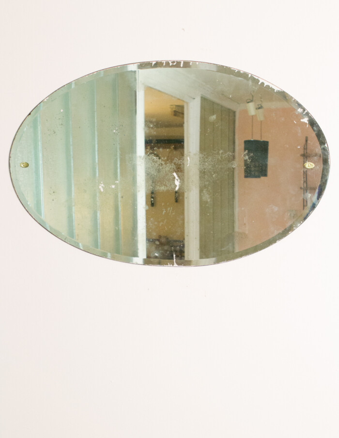 Antique Oval Mirror -1