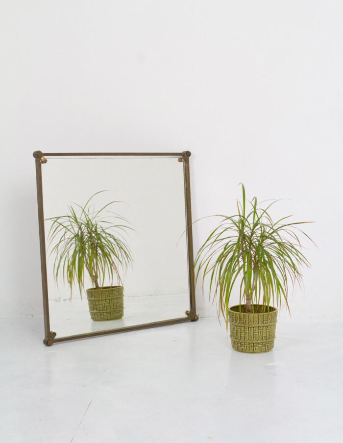 Bauhaus Mirror in Copper Frame -5