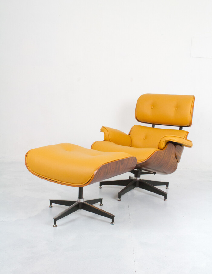 Herman Miller Eames Lounge Chair & Ottoman (Reproduction) -1