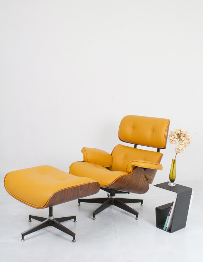 Herman Miller Eames Lounge Chair & Ottoman (Reproduction) -31