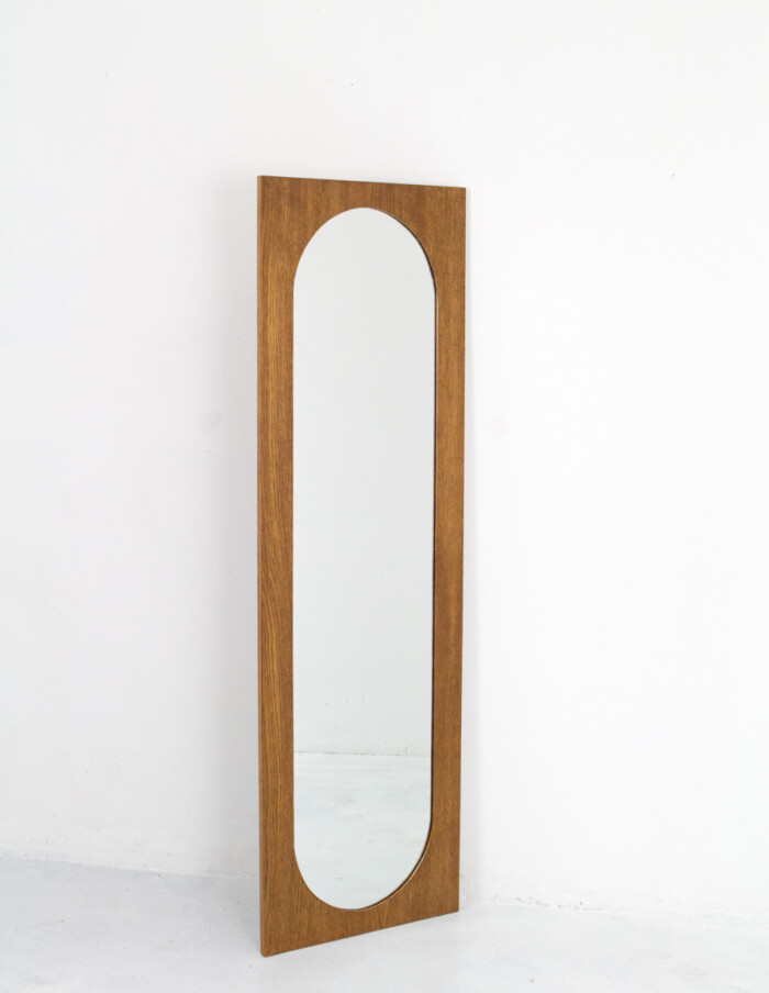 Large Mirror in Wooden Frame -2
