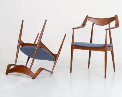 Perfectly Restored Armchair by Heczendorfer László
