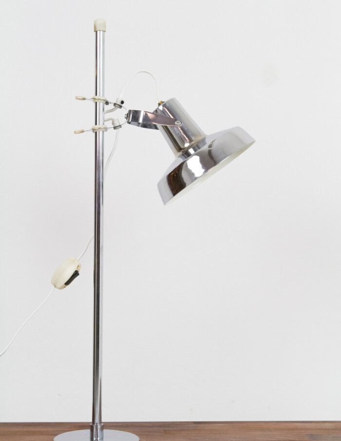 Adjustable Chrome Table Lamp-1