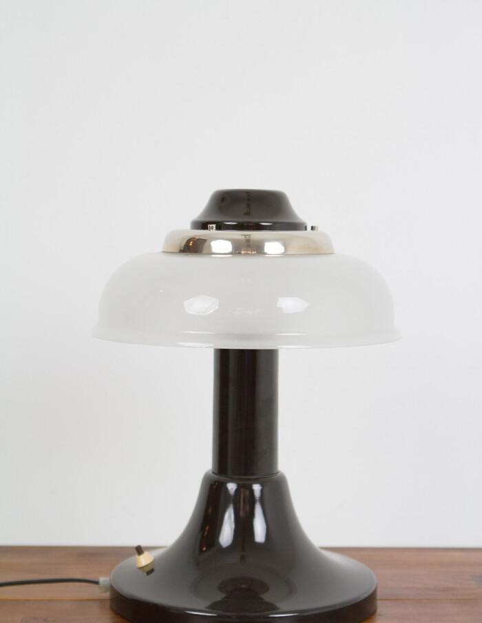 Artisan Metal & Glass Lamp Table Lamp-1