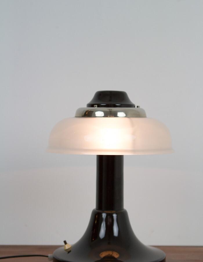 Artisan Metal & Glass Lamp Table Lamp-11