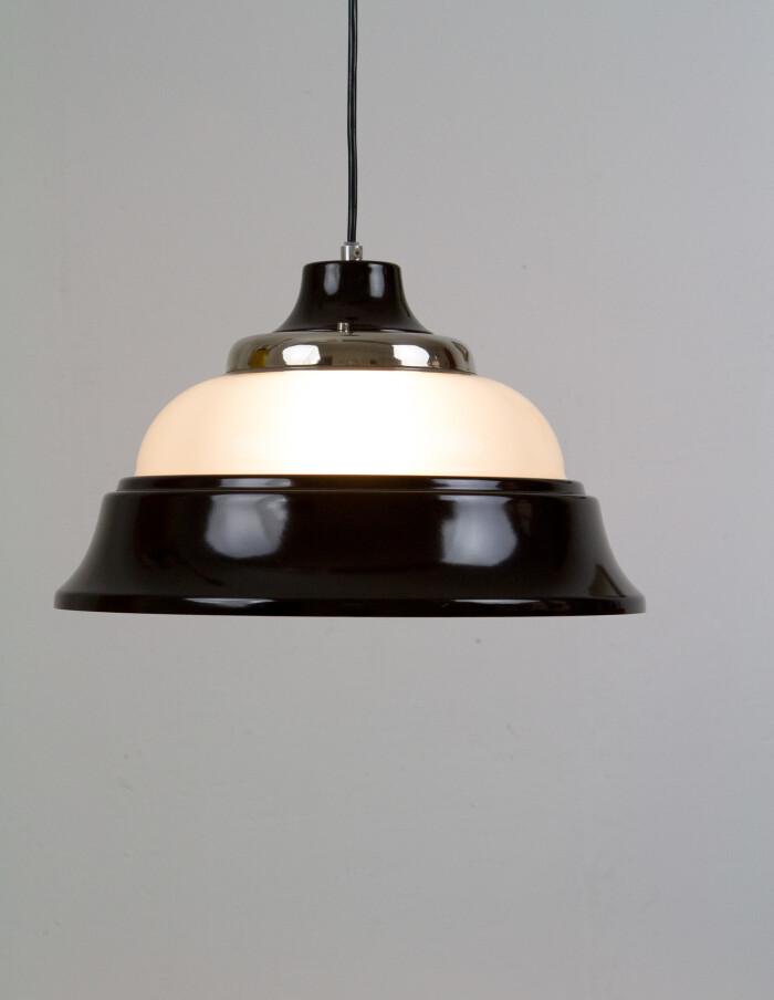 Artisan Metal & Glass Pendant Lamp-7-2