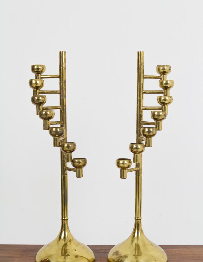 Copper Candle Holder by Fördős-9