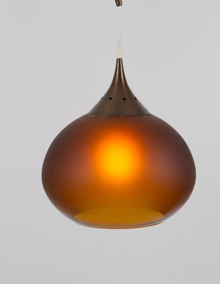 Drop Shaped Glass Pendant-6