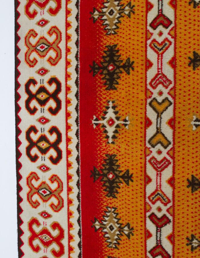 Kazakh Wool Wall Carpet-4
