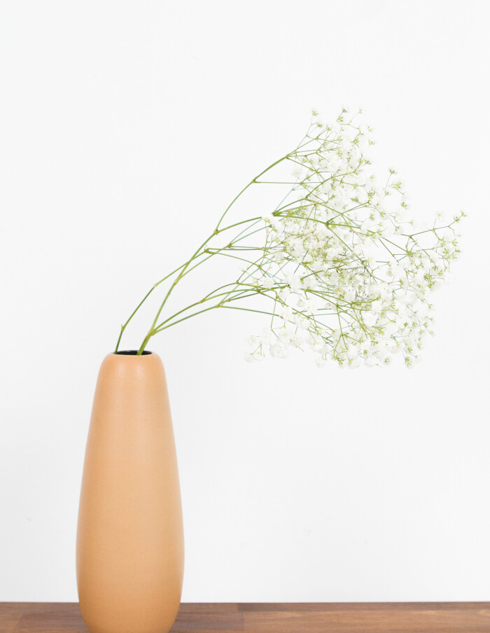 Mustard Yellow Ceramic Vase-2
