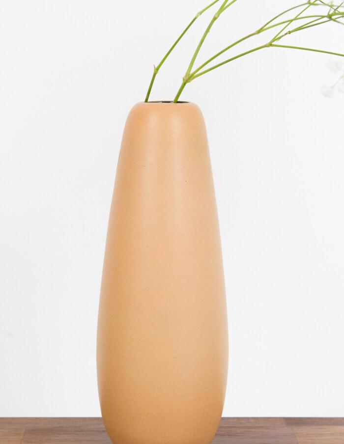 Mustard Yellow Ceramic Vase-3
