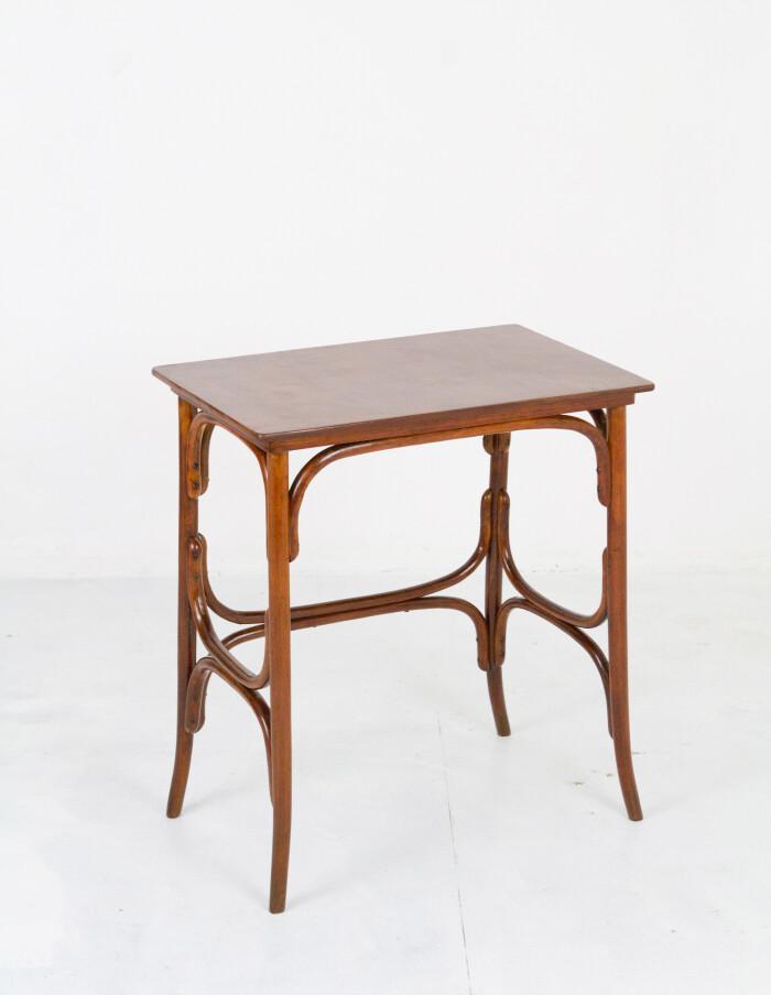 Restored Thonet Side Table-2