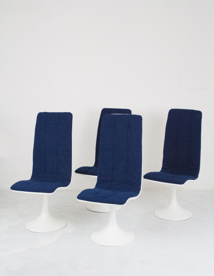 Set of 4 Space Age Design Seat by Péter Ghyczy-1