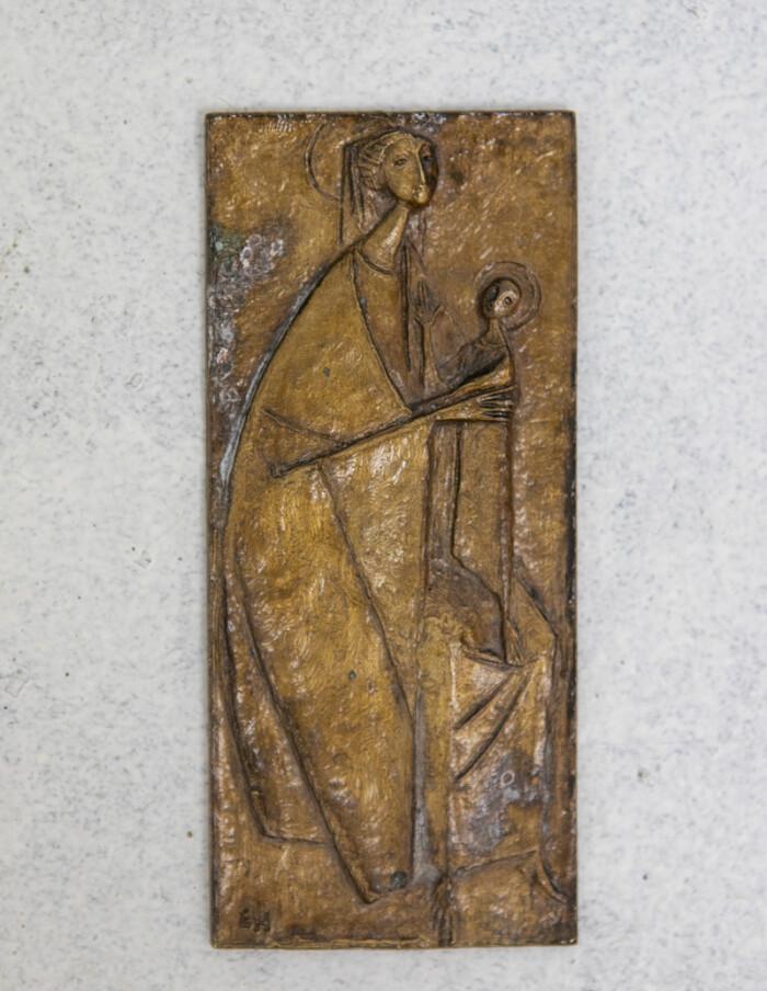 Brass Palquette by Erwin Huber-1