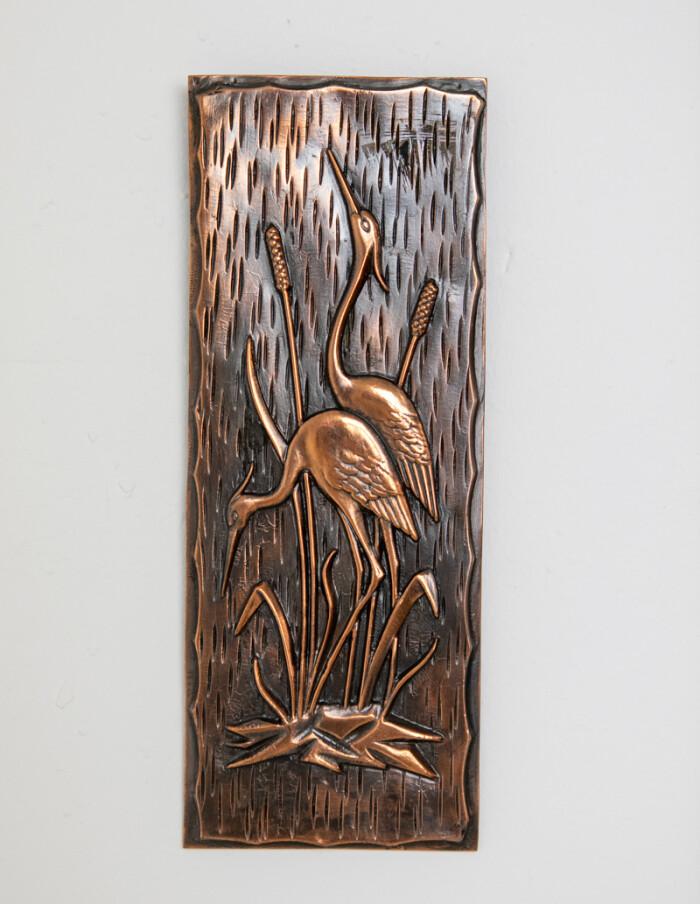 Brass Wall Decoration (Birds)-1
