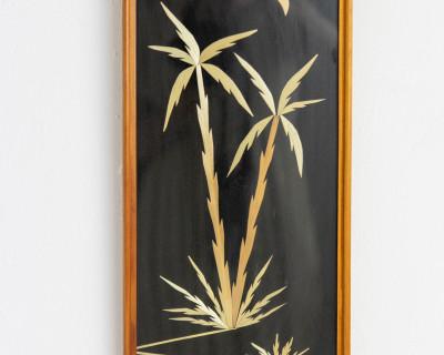 Mid-Century Palm Trees Wall Decoration