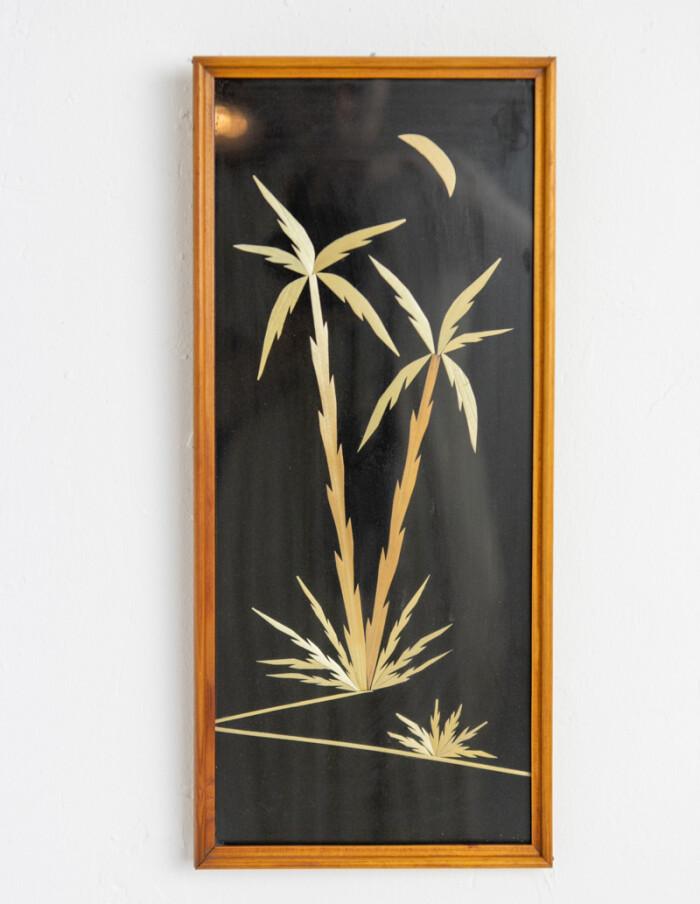 Mid-Century Palm Trees Wall Decoration-1