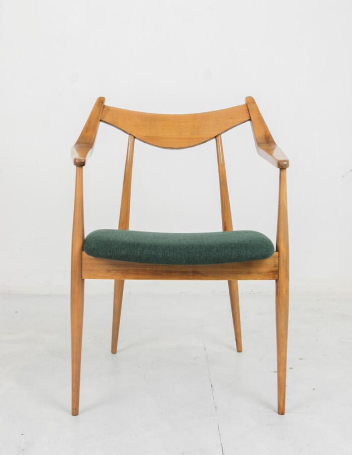 Perfectly Restored Armchair by László Heczendorfer-10