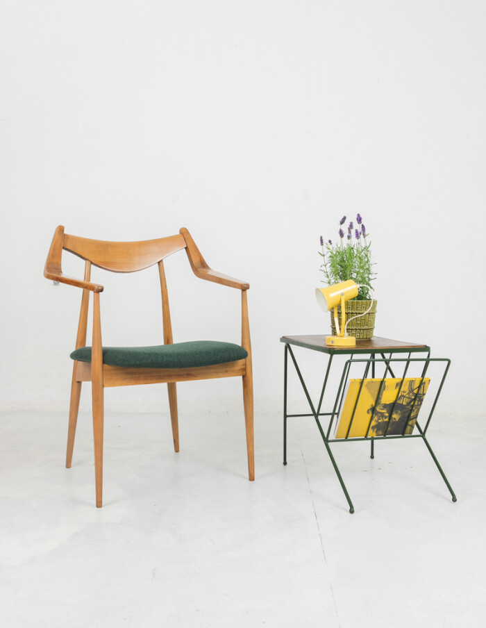Perfectly Restored Armchair by László Heczendorfer-12