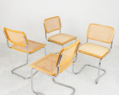 Restored Italian Cesca Chairs