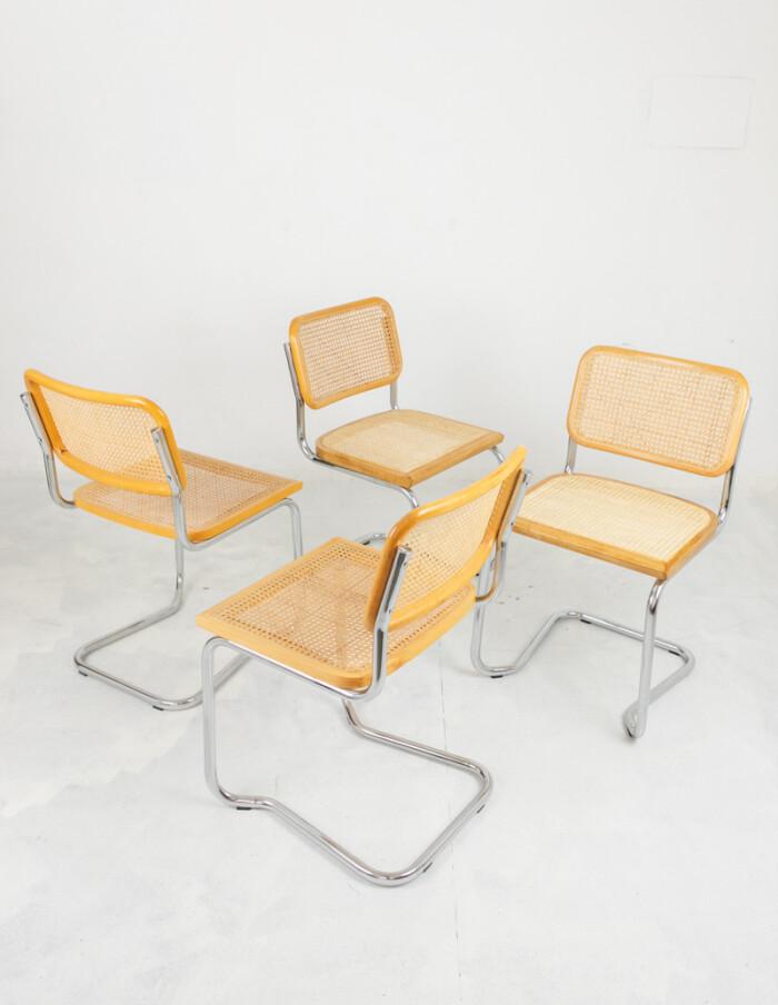Restored Italian Cesca Chairs-3