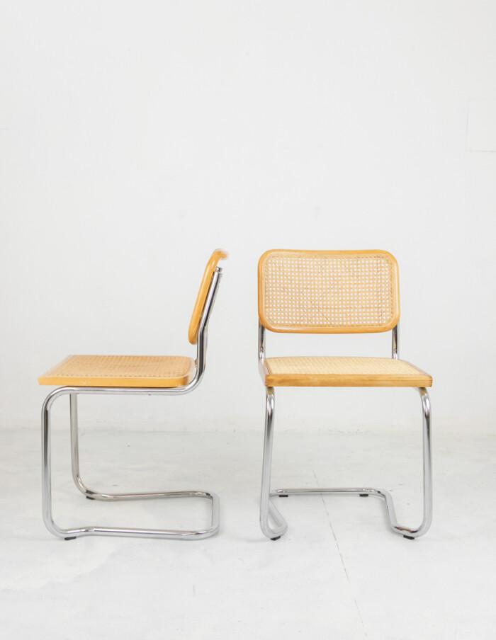 Restored Italian Cesca Chairs-4