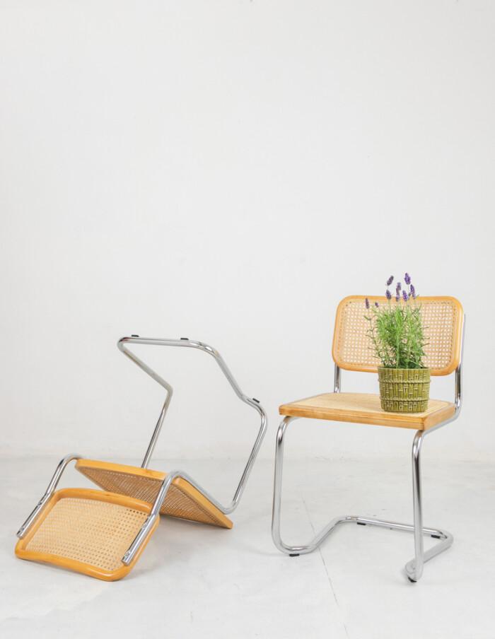 Restored Italian Cesca Chairs-6