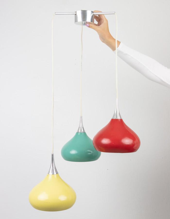 Colorful Pendant, 1970s-1