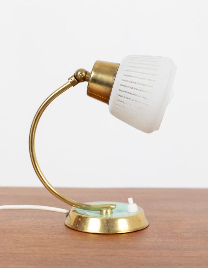 Tiny Copper Table Light, 1950s-2