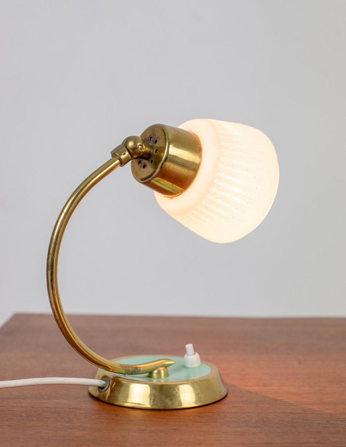 Tiny Copper Table Light, 1950s-7