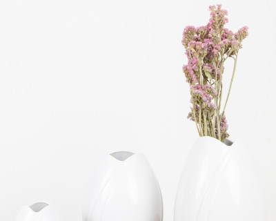 White Porcelain Vases by Arzberg Germany (1 medium size available)